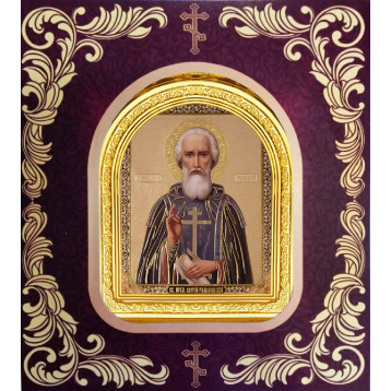 Ікона Сергій Радонезький 12-А-56
