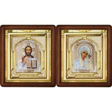 Вінчальна пара Ікона Спасителя і Казанської Божої Матері 3-ВП-1