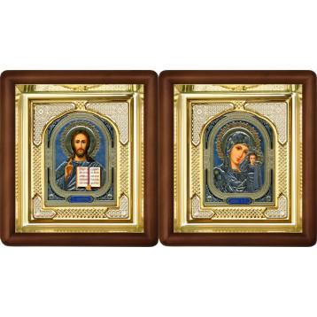 Вінчальна пара Ікона Спасителя і Казанської Божої Матері 3-ВП-4