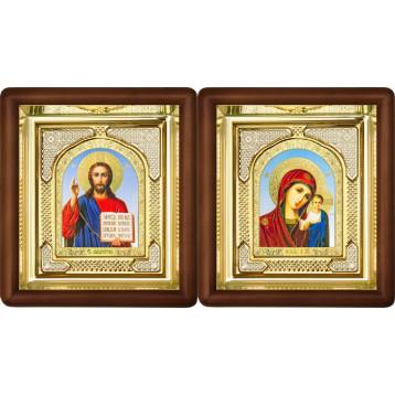 Вінчальна пара Ікона Спасителя і Казанської Божої Матері 3-ВП-6