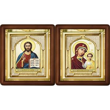 Вінчальна пара Ікона Спасителя і Казанської Божої Матері 3-ВП-8