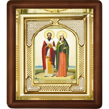 Ікона Кипріян і Юстина 3-П-35