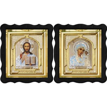 Вінчальна пара Ікона Спасителя і Казанської Божої Матері 3-ФВП-1