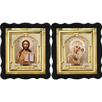 Вінчальна пара Ікона Спасителя і Казанської Божої Матері 3-ФВП-2