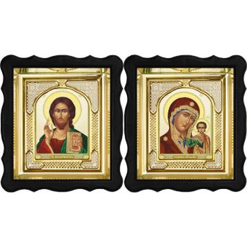 Вінчальна пара Ікона Спасителя і Казанської Божої Матері 3-ФВП-7