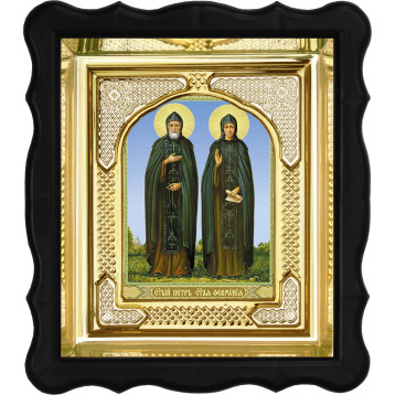 Ікона Петро і Февронія 3-ФП-49