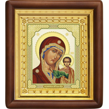 Ікона Божої Матері Казанської 4-П-14