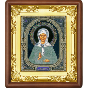 Ікона Матрона Московська 5-П-38