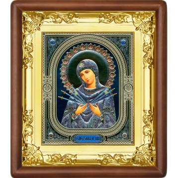 Ікона Семистрільна Божа Матір 5-П-53