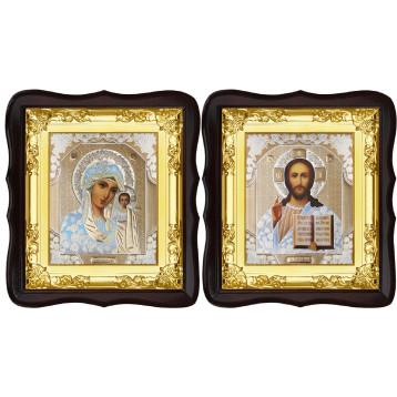 Вінчальна пара Ікона Спасителя і Казанської Божої Матері 5-ФТВП-1