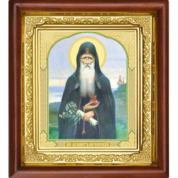 Икона Агапит Печерский 16-П-68
