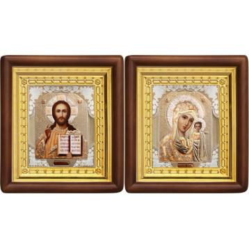 Вінчальна пара Ікона Спасителя і Казанської Божої Матері 4-ВП-2