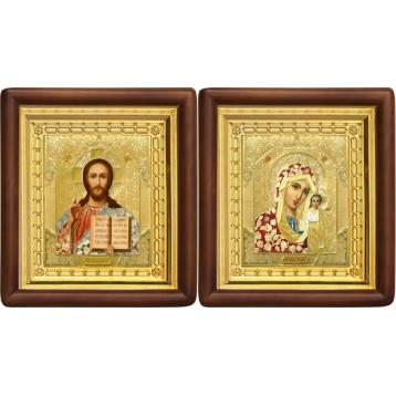 Вінчальна пара Ікона Спасителя і Казанської Божої Матері 4-ВП-3