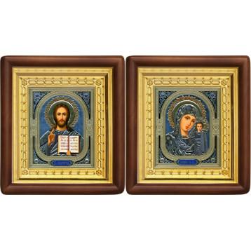 Вінчальна пара Ікона Спасителя і Казанської Божої Матері 4-ВП-4