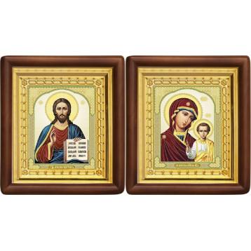 Вінчальна пара Ікона Спасителя і Казанської Божої Матері 4-ВП-8