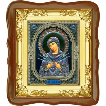 Ікона Семистрільна Божа Матір 5-ФС-53