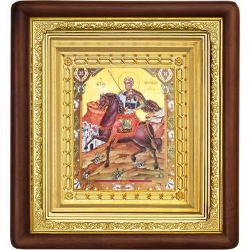 Икона Sf. Mare Mucenic Mina (Мина) 19-П-271