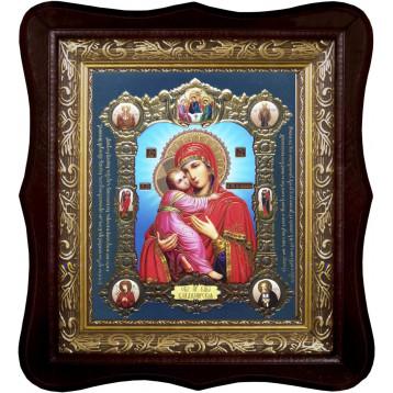 Владимирская икона Божией Матери 1518П-ФБ-6