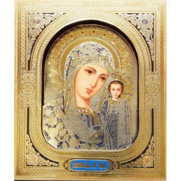 Икона 3-Д Пресвятая Богородица Казанская 28-3д-П-2