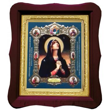 Икона Tanguirea Maicii Domnului (Скорбящая) 18П-Ф-25