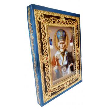 Иверская икона Божьей Матери 35-Д-34
