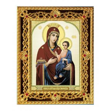 Иверская икона Божьей Матери 38-Д-34