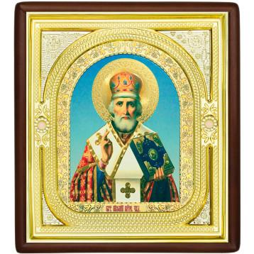 Ікона Микола Чудотворець, лик Софрон 1-П-26