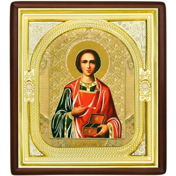 Ікона Пантелеймон цілитель, лик Софрон 1-П-48