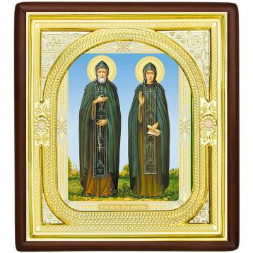Ікона Петро і Февронія 1-П-49