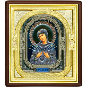 Ікона Семистрільна Божа Матір, лик Софрон 1-П-53