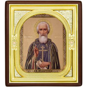 Ікона Сергій Радонезький 1-П-56