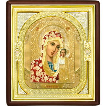 Ікона Богородиця Казанська, лик Софрон 1-П-9