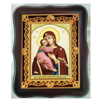 Владимирская икона Божией Матери 38-Ф-30