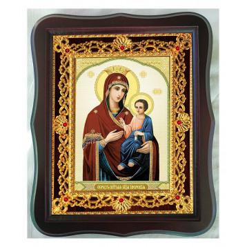 Иверская икона Божьей Матери 38-Ф-34