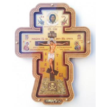 Крест настенный малый