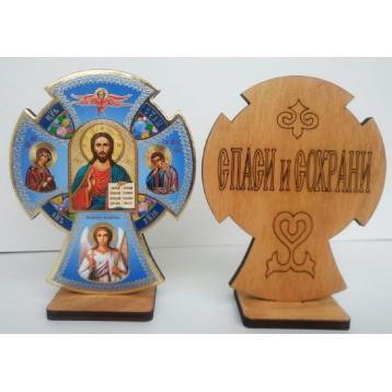 Крест настольный малый