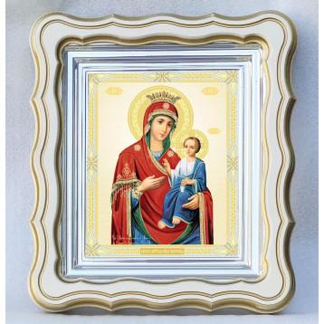 Иверская икона Божьей Матери 43-Ф-34