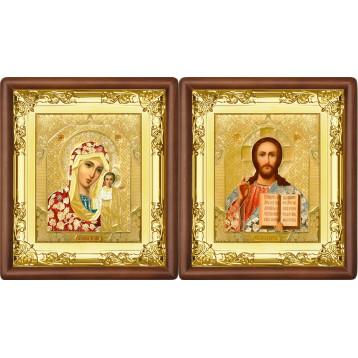 Вінчальна пара Ікона Спасителя і Казанської Божої Матері 5-ВП-3