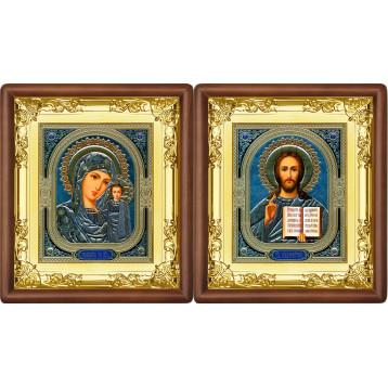 Вінчальна пара Ікона Спасителя і Казанської Божої Матері 5-ВП-4